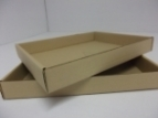 Emballage carton BARQUETTE en petite cannelure