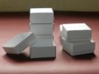 Emballage carton BOITE A COUVERCLE Blanche