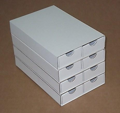 Boite orthodontie carton cartoval - Boite de rangement pour tiroir ...