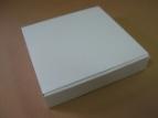 Emballage carton : BOITE PLATE BLANCHE