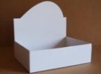 Emballage carton BOITE PRESENTOIR blanche ou havane