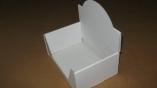 Emballage carton BOITE PRESENTOIR BLANCHE