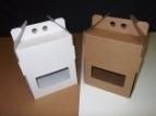 Emballage carton CABAS 6 x 33cl longneck-basse BLANC