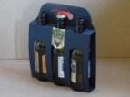 Emballage carton Panier Noir 3 bouteilles 3 x 33 longneck