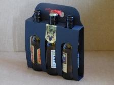 Panier Noir 3 bouteilles 3 x 33 longneck