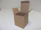 Emballage carton : ETUI - Boite � flacon Havane