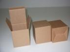 Emballage carton ETUI en microcannelure Havane