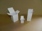 Emballage carton ETUI - Boite à flacon Blanc