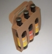 Emballage carton PANIER BOUTEILLES 3 X 33cl