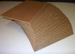 Emballage carton PLAQUE carton ondulé  SIMPLE CANNELURE - Petites Quantités