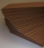 Plaques Double microcannelure havane 880 X 1070