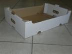 Emballage carton plateau carton - bac à poignées
