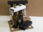 Emballage carton Porte bouteille - par 2, 3 et 4- longneck , steinie, vichy....