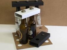 Porte bouteille - par 2, 3 et 4- longneck , steinie, vichy....