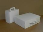 Emballage carton VALISE CARTON BLANCHE
